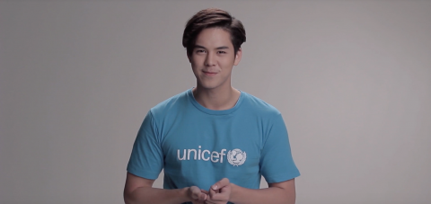 Peach Pachara calls for action to fight unfair for every child