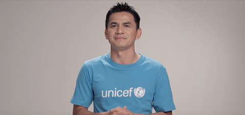 Zico Kiatisak calls for every one to fight unfair for every child