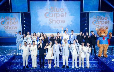 Celebrities, the private sector and the public joined forces to support children in need in the Blue Carpet Show for UNICEF – a televised fundraising event
