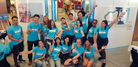 I Am UNICEF volunteers