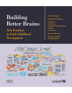 Building Better Brains : New Frontiers in Early Childhood Development