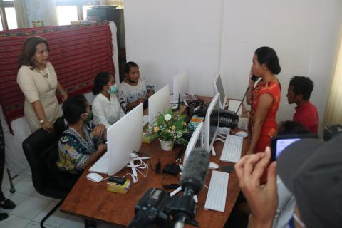The Ministry of Health and UNICEF  launch Timor-Leste's  first-ever mental health hotline