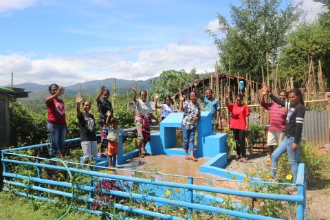 In remote Timor-Leste, a piped water supply reaches one community for the very first time