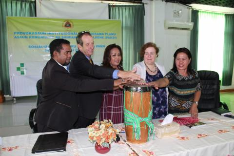 Thousands of people in Dili Municipality to benefit from a European Union and UNICEF supported sanitation project