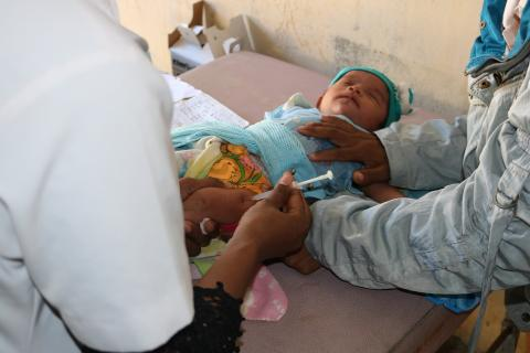 At least 80 million children under one at risk of diseases such as diphtheria, measles and polio as COVID-19 disrupts routine vaccination efforts, warn Gavi, WHO and UNICEF