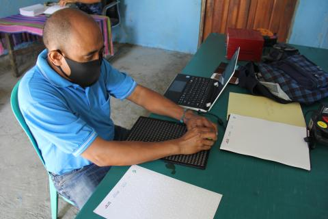 Improving access to information for children and people with disabilities in Timor-Leste