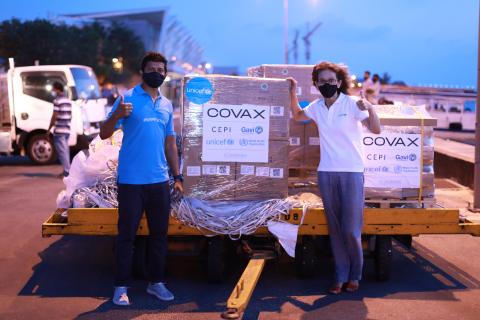 UNICEF begins shipping syringes for the global rollout of COVID-19 vaccines under COVAX