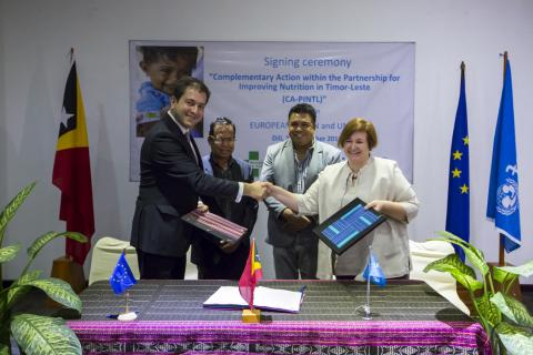 EU Signing ceremony, 21 Dec 2018