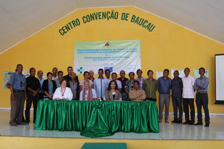UNICEF and the European Union focus on improving the health and nutrition of mothers and children in Timor-Leste