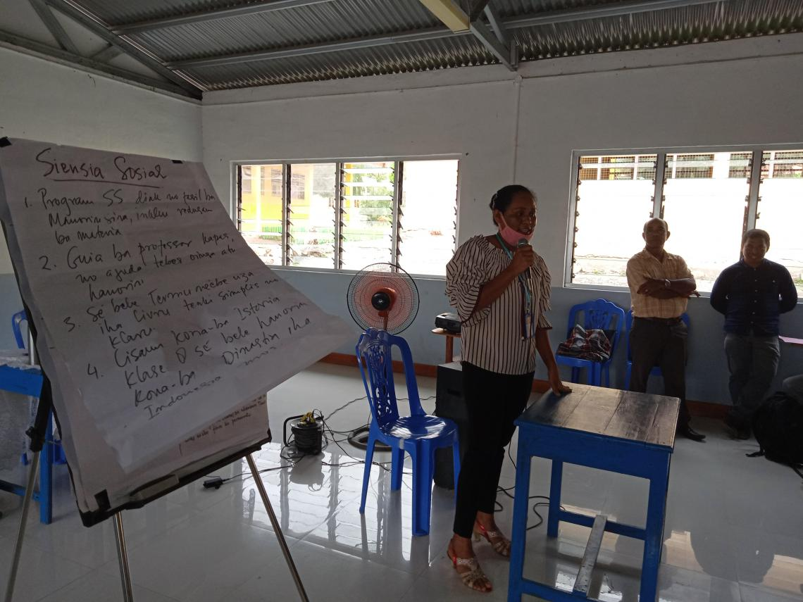 Incorporating gender equality and violence prevention in the education curriculum 2