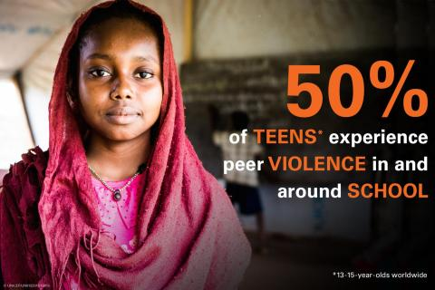 #ENDviolence in schools campagne internationale