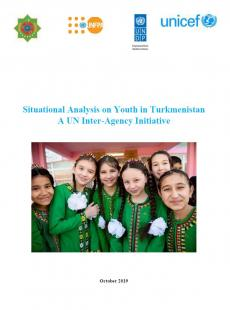 Situational Analysis on Youth in Turkmenistan 2019 cover image
