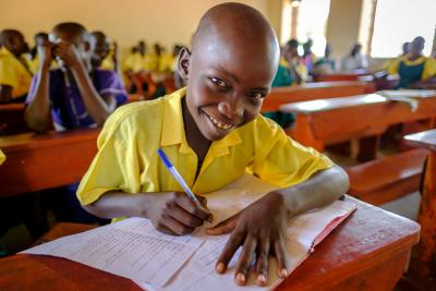 UNICEF education interventions in Uganda