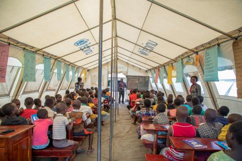 education in emergencies, education for refugees