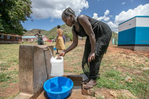 water, sanitation and hygiene in health facilities
