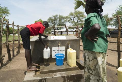clean and safe water for refugees and host communities