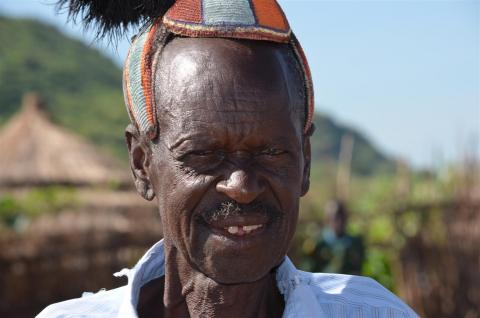 elder from Karamoja