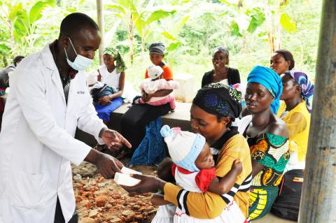 immunization, maternal health, healthcare services, health, floods, covid-19, Bundibugyo, Uganda