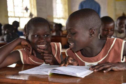 education, girls education, primary school, Uganda, learning, basic education, right to education