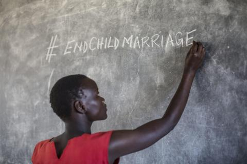 child marriage, violence against children, Uganda