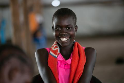 displaced children, refugee children, south sudan, Uganda, UNICEF Uganda Annual report 2019