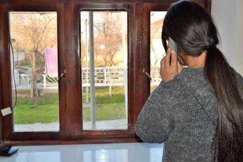 Soliha speaks to her mother over phone almost every day.