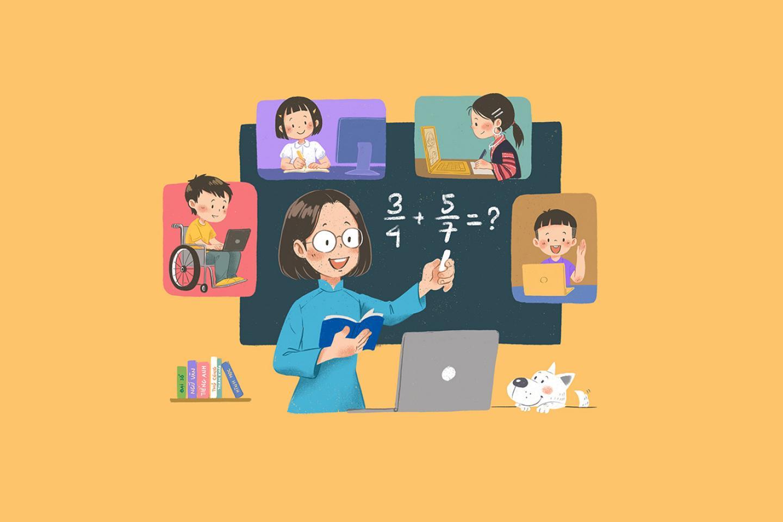 Làm thế nào để dạy học ở nhà và tương tác an toàn với học sinh trong mùa dịch COVID-19