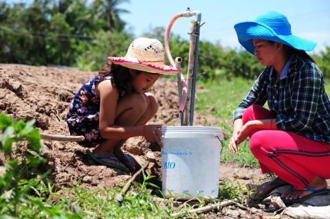 Building resilience for children  in schools and communities in the Mekong Delta