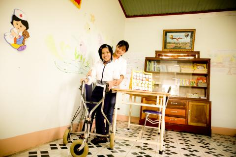 Children with disabilities in Kon Tum