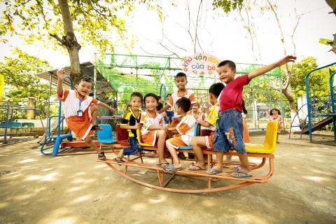 "UNICEF is utilizing its expertise and experience across the full spectrum of children's rights to ensure ""no child is left behind"" in Viet Nam."