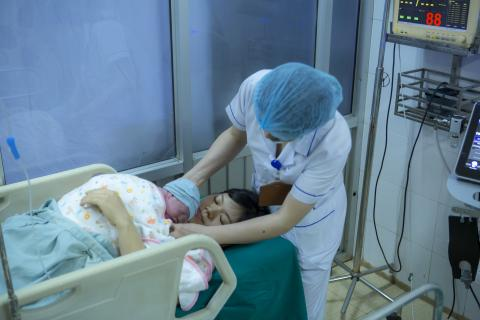 New Year's Babies: Over four thousand children will be born in Viet Nam on New Year's Day - UNICEF