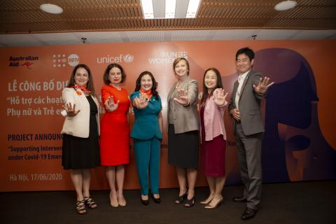 a new joint project to address violence against women and children in Viet Nam