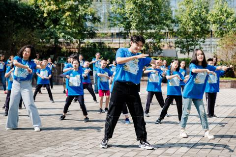 Quang Dang and UNICEF collaborate to release a new dance challenge on social media to promote World Children's Day
