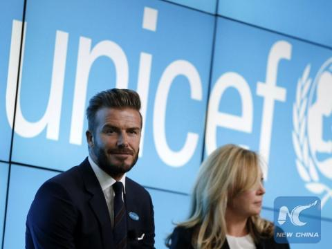 New film featuring UNICEF Goodwill Ambassador David Beckham highlights urgent need to end violence against children