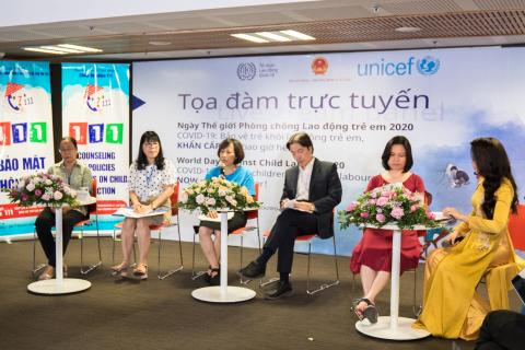 World Day Against Child Labour 2020: Viet Nam joins global campaign to confront intensified risk of child labour resulting from COVID-19
