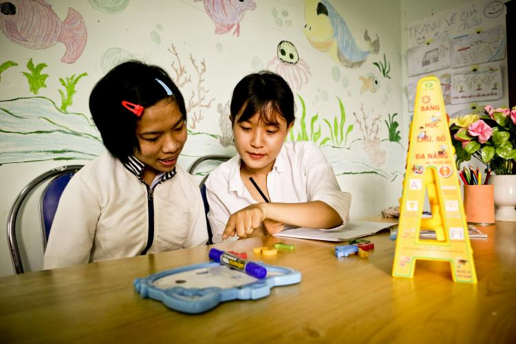 UNICEF works to ensure children and adolescents with disabilities in Viet Nam can access and benefit from inclusive education.