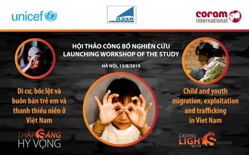 Launch of study on child and youth migration, exploitation and trafficking in Viet Nam