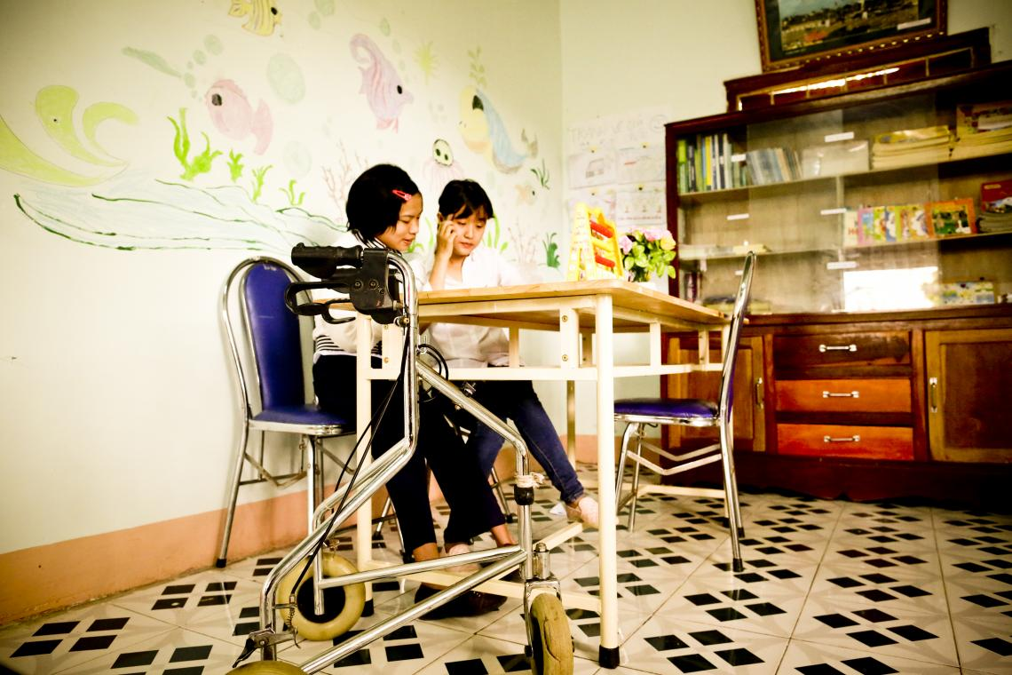 Too many children with disabilities remain out of the classroom, especially at primary or secondary school ages.