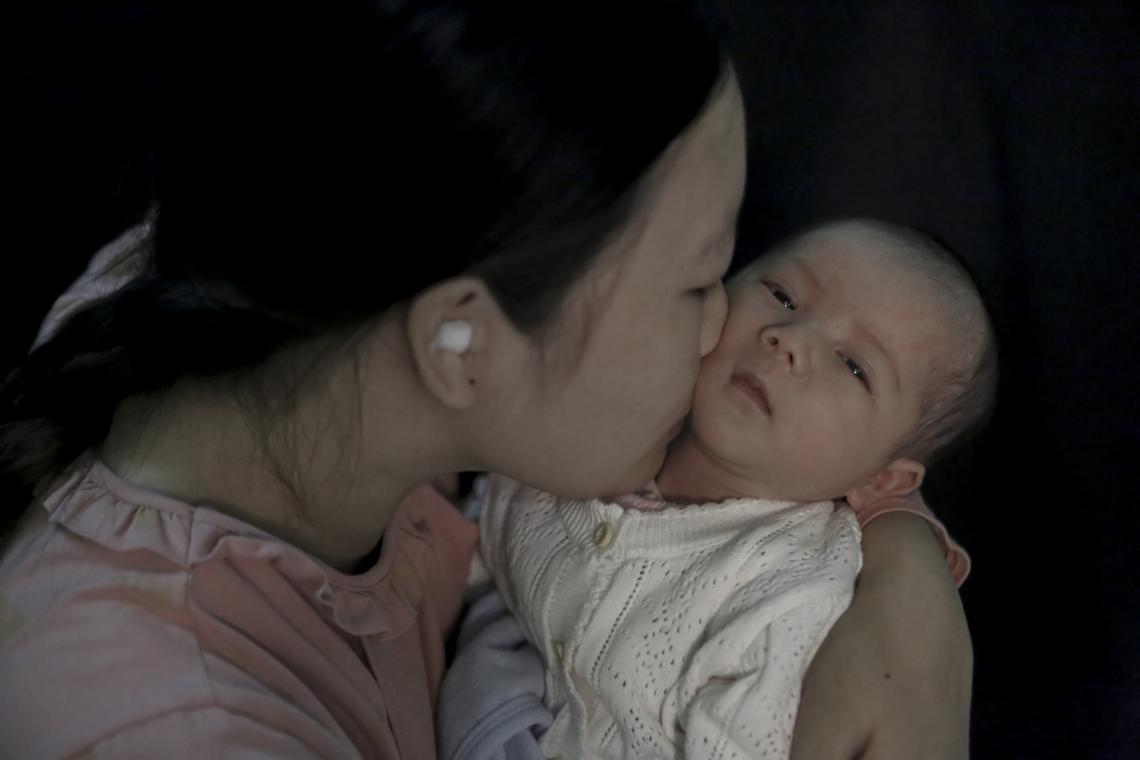 Baby Girl from Hbang Village, Kon Long Khong, K-Bang, Gia Lai