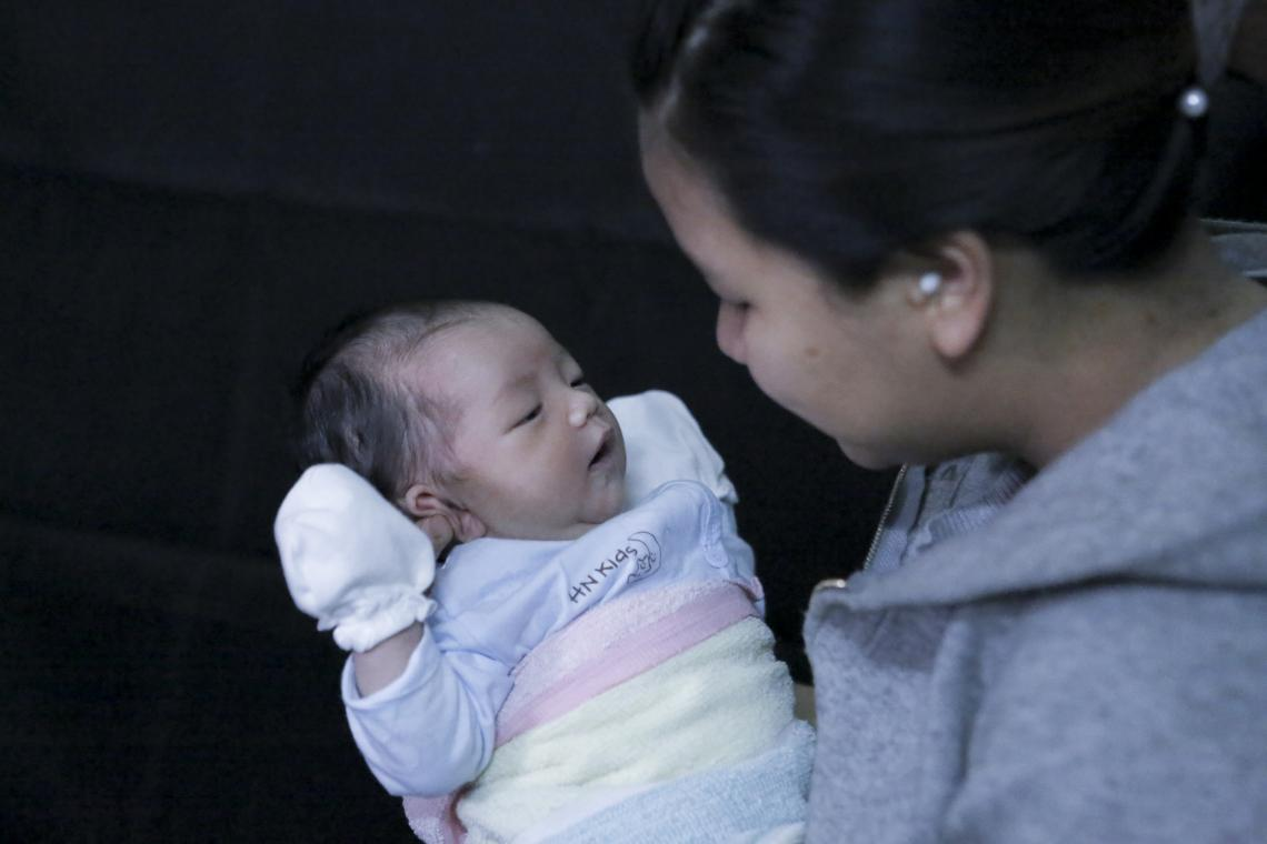 Baby Girl from Village 1, Tan Lap commune, Kon-Rãy District, Kon Tum