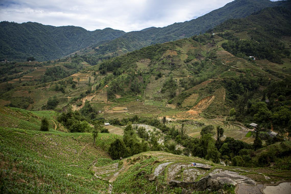 Địa bàn xã Trung Chải, huyện Sapa, tỉnh Lào Cai