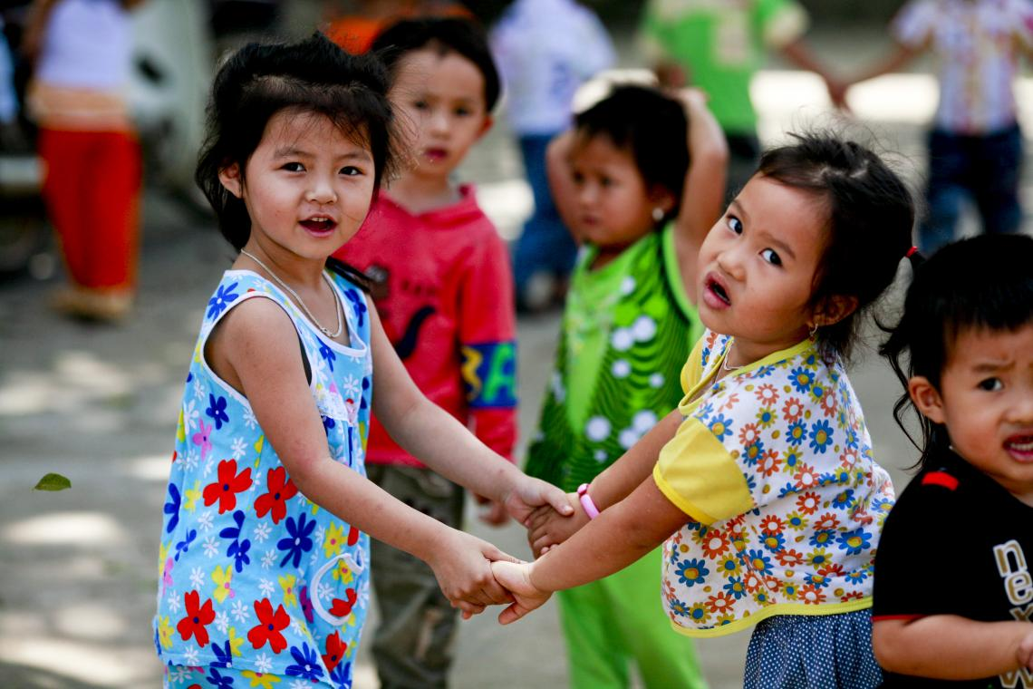 This coordinated, integrated approach is essential to ensure the survival, optimal growth and development of children in Viet Nam. Intervening early will help avoid future, costly problems for society.