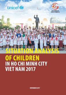Situation analysis of children: in Ho Chi Minh city - Viet Nam 2017
