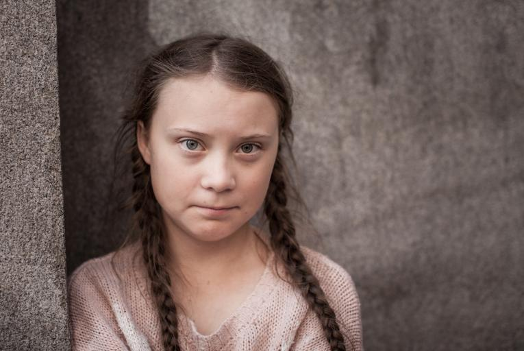 Greta Thunberg, outside the Swedish parliament in Stockholm, August 28, 2018. Greta, only 15 years old at the time, started her schoolstrike for the climate all by herself. Her original plan was to strike for three weeks up until the swedish parliament election to be held on September 9. This in order to draw attention to the climate crisis. However, Greta inspired millions of people all around the world. And she decided to continue. Since then Greta has been striking every Friday, and she intends to do so
