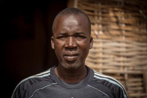 Adama Traoré, 40, has been a vaccinator at Sadiola community health center for more than 10 years.