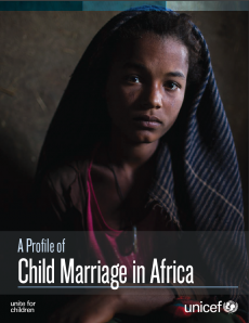Cover of the Child Marriage in Africa Report
