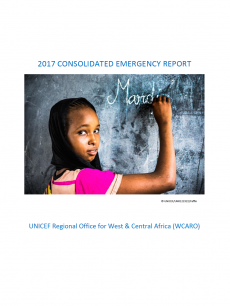 The Cover of the 2017 Consolidated Emergency Report