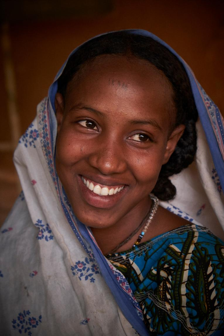 Aichatou Moussa, 16 years old at the Centre of Female Victims of Fistula