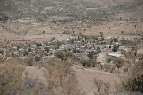 Al Nadra village in Ibb has long faced water scarcity compounded by years of ongoing conflict