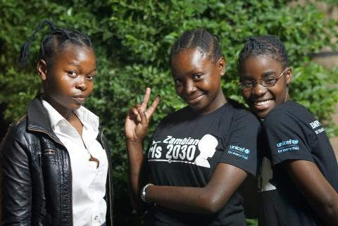 Adolescent girls in Lusaka
